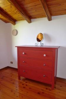 Wohndetail im Schlafzimmer