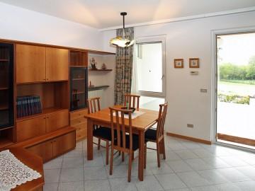 Esstisch im Wohnraum Casa Milva
