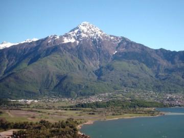 Blick auf den Monte Legnone